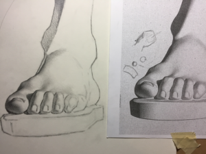 cast-drawing
